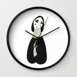 Oh so lady Wall Clock
