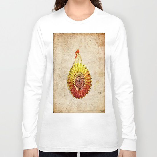 The hen colored Long Sleeve T-shirt