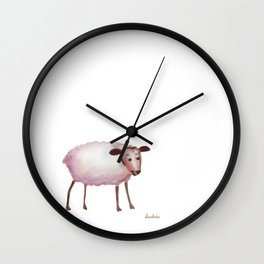 ovejita Wall Clock