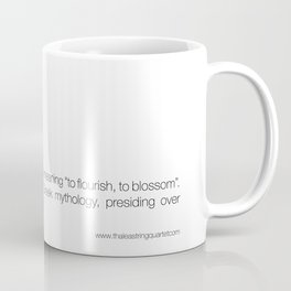 Thalea String Quartet Coffee Mug