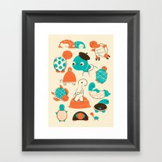 Turtles Framed Art Print