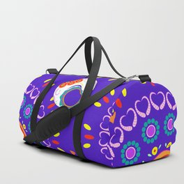 Day of the Dead Skull Duffle Bag