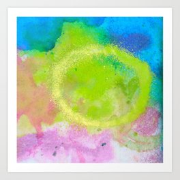 Splats Prints Art Print