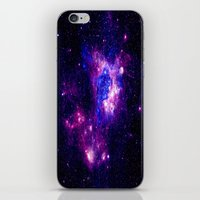 nebula iPhone & iPod Skins featuring nebulA. by 2sweet4words Designs