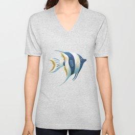 Angel Fish Unisex V-Neck