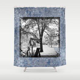 Winter Beginnings Shower Curtain