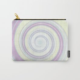 Re-Created Spin Painting No. 9 by Robert S. Lee Carry-All Pouch
