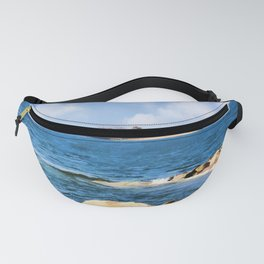 New England Shoreline - Painterly Fanny Pack