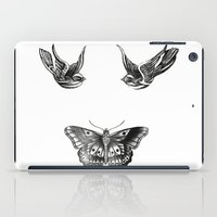 tattoos iPad Cases featuring Tattoos by Hoeroine