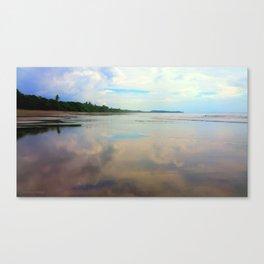 Glassy Uvita Canvas Print
