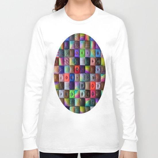 Patchwork of Joy Long Sleeve T-shirt