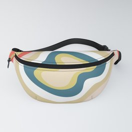 Ruby Canyon Stripes Fanny Pack