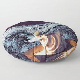 Moonface Floor Pillow
