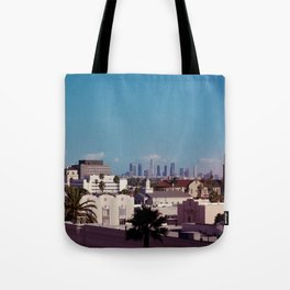 Hollywood to Downtown Los Angeles Tote Bag