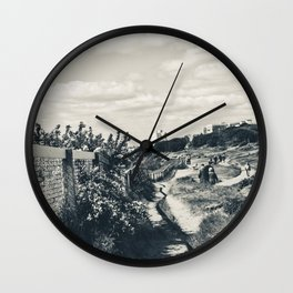 A Walk to the Clouds Wall Clock