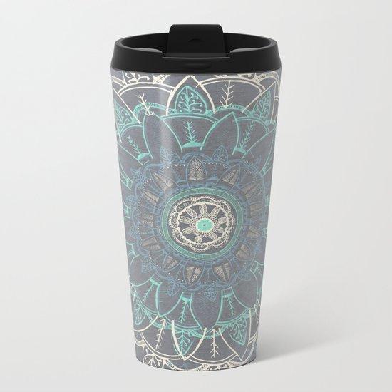 Zenful Mandala Metal Travel Mug