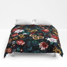 EXOTIC GARDEN - NIGHT VI Comforters