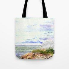 little shore Tote Bag