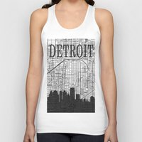detroit Tank Tops featuring DETROIT by Rustic Refresh