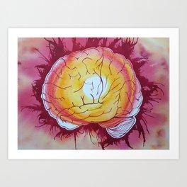 Brain on Fire Art Print
