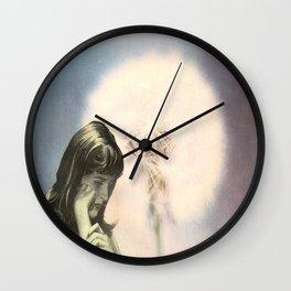 Dandelion Wind Wall Clock