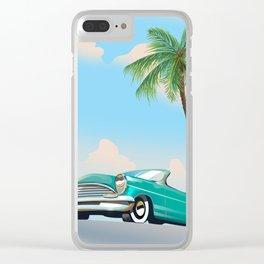 Vintage Auto Clear iPhone Case