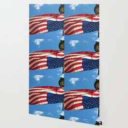 The Upside Down American Wallpaper