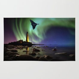 Auroral Splendour For The Vulcan Rug
