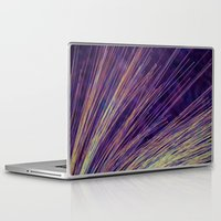 fireworks Laptop & iPad Skins featuring Fireworks by Françoise Reina