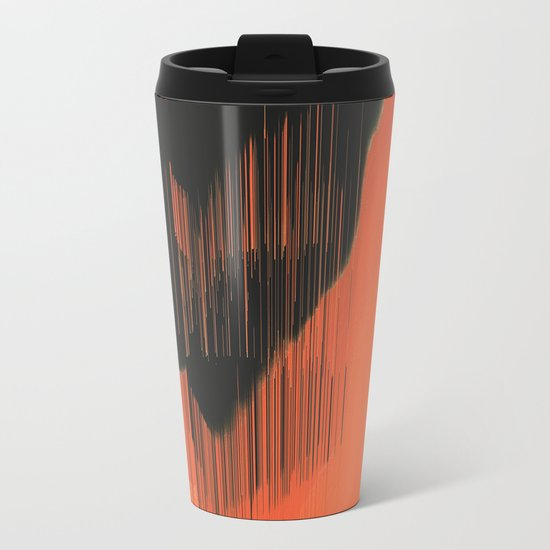 Stalactites Metal Travel Mug