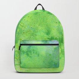 In My Garden Watercolor Texture Backpack
