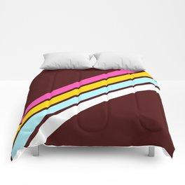 80's Style Retro Stripes Comforters