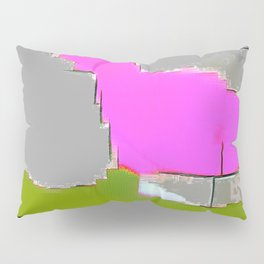 Abstract #13 in Green Pillow Sham