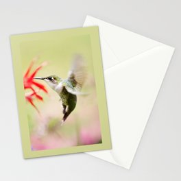 Fancy Hummingbird Stationery Cards