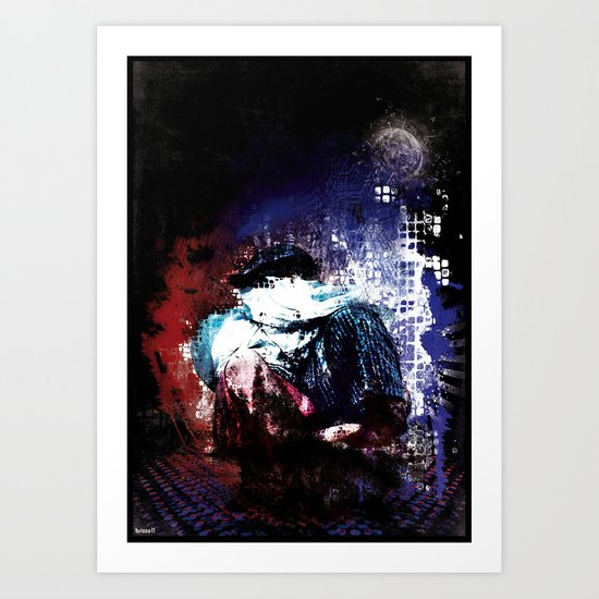 eros e thanatos  Art Print
