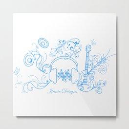 Jinnie Designs Metal Print