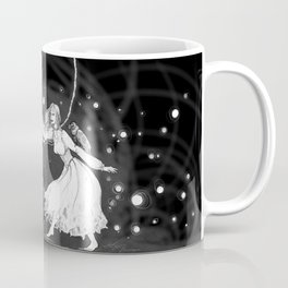With Her in Duet Macabre Coffee Mug