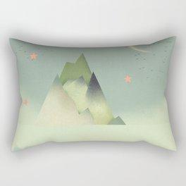 Abstract Cloudscape Rectangular Pillow