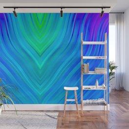 stripes wave pattern 3 std Wall Mural
