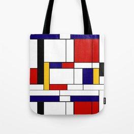 Mondrain Tote Bag