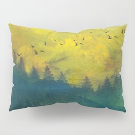 Mountain Lake Pillow Sham
