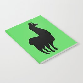Angry Animals: llama Notebook