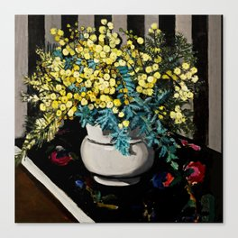 """Wattle"" by Margaret Preston Canvas Print"