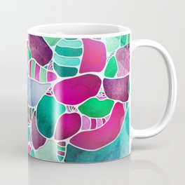 Frosted Sea Glass Coffee Mug