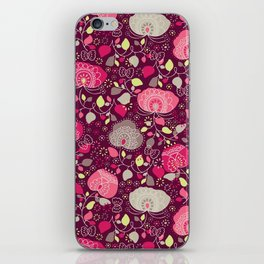 Fancy Floral iPhone Skin