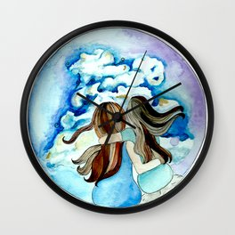 Mom and me Wall Clock