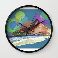 Leblon, Brazil Wall Clock