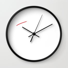 Broke Father of the Bride Wedding Wall Clock