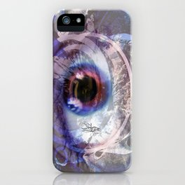 Looking through the lens  iPhone Case
