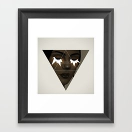 Quantum entanglement.  Framed Art Print